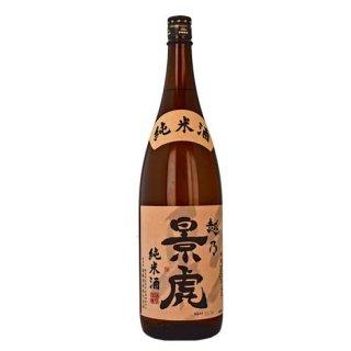 越乃景虎「純米酒」(1.8L)