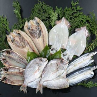 特選 開き魚5種の一夜干し詰合せ
