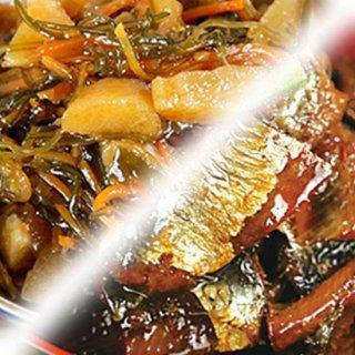 【クーポン】数の子松前漬とニシンの旨煮セット