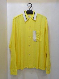 Dead Stock 50's VAN HEUSEN レーヨン オープンカラーシャツ