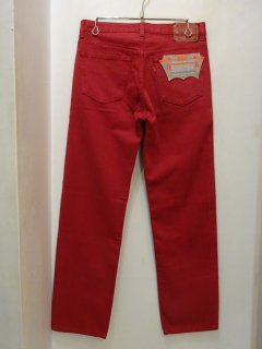 Dead Stock 90's Levi's 501 Red アメリカ製