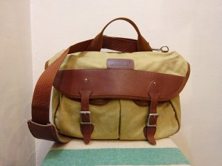 70's Eddie Bauer Canvas × Leather Shoulder Bag