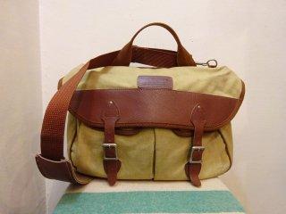 70's Eddie Bauer Canvas × Leather Shoulder Bag