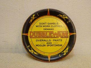 30's DUBBLE WARE アドバタイジング チップ トレイ
