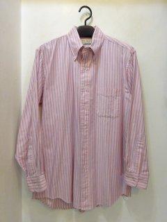 1991年製L.L.Bean オックスフォード地ストライプBDシャツ アメリカ製