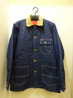Dead Stock 60's BIG SMITH 裏地付きデニムカバーオールジャケット