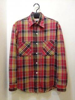 70's BIG MAC フランネルシャツ size S