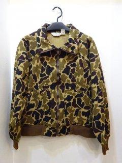 80's L.L.Bean ダックハンターカモ ウールジャケット size L