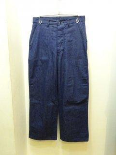 40's/50's U.S.NAVY Denim Pants W32