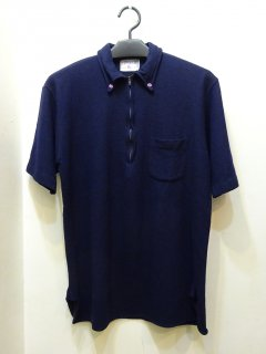 60's The Spinnaker shirt ハーフジップ ボタンダウンシャツ