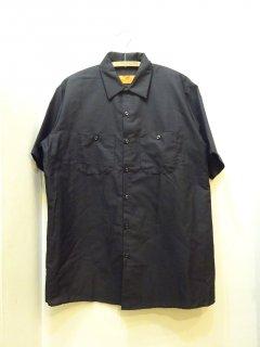新品 REDKAP ショートスリーブ ワークシャツ size L 黒