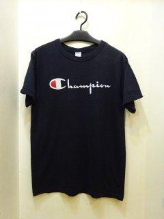 80's Champion 筆記体ロゴ Tシャツ