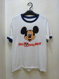 80's TROPIX TOGS リンガーTシャツ ミッキーマウス