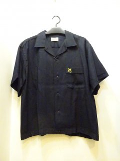 Mint Condition 50's Hilton ボーリングシャツ 黒レーヨン size XL