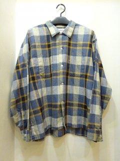 60's Manhattan コットン オープンカラーシャツ