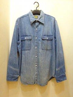 80's BB Brand デニムワークシャツ