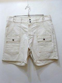 80's Levis Bush Shorts オフホワイトダック