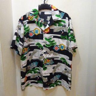 70's Hukilau Fashions 和柄 ハワイアンシャツ
