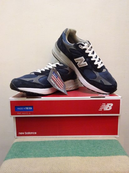 detailed look e815f 43895 新品 New Balance MR993NV アメリカ製 size 7 1/2D