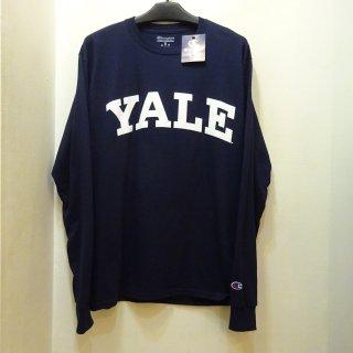 新品YALE大学チャンピオンTシャツ 長袖