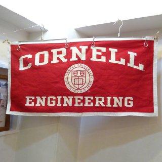 50's CORNELL University ウォールバナー