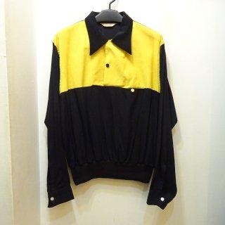 50's El Rancho Corduroy×Rayon Pullover Rib Shirts