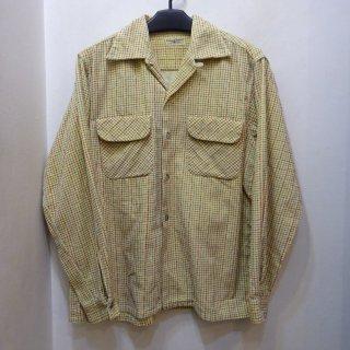 50's Richman Brothers コーデュロイ オープンカラーシャツ