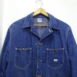 50's Lee 91-J Denim Chore Jacket size 40