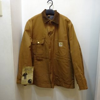 Dead Stock 70's Carhartt Brown Duck Chore Coat