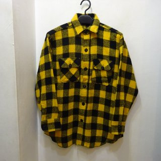 60's Yorke Buffalo Check Wool Shirts
