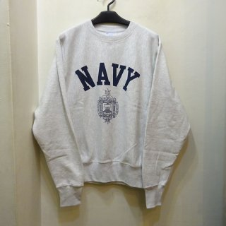 "New Champion Reverse Weave ""U.S.NAVY"" Crew Neck"