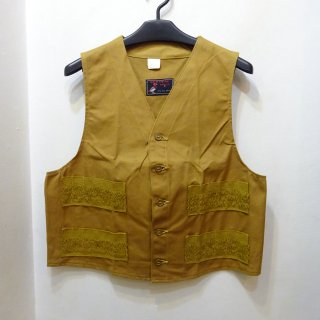 Dead Stock 50's Red Head Brown Duck Hunting Vest