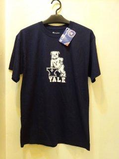新品YALE大学チャンピオンTシャツ 両面プリント size L