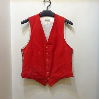 60's McGREGOR Corduroy × Cotton Vest