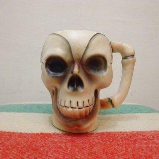 50's Skull Mug Ceramic Made in Japan