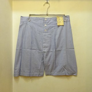 Dead Stock 70's Brooks Brothers Pin Check Cotton Under Shorts