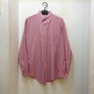 90's Brooks Brothers Gingham Check Broad B.D Shirts