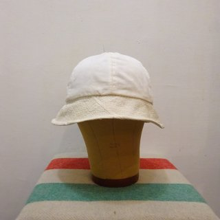 50/60's Unknown White Cotton Hat
