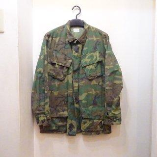 1970y U.S.ARMY リップストップ ジャングルファティーグジャケット ブラウンリーフ