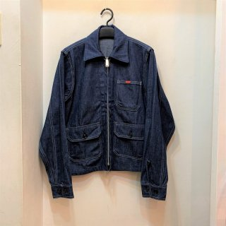 Dead Stock 60's/70's BIG SMITH Denim Work Jacket size 40