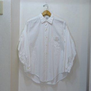 50's TRUVAL White Cotton Poplin Shirts