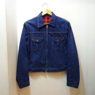 50's TUFFIES OUT OF THE WEST Denim Work Jacket