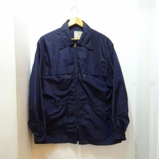 50's Bayard of Boston Nylon Jacket 濃紺 size about 42