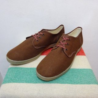 Dead Stock 80's Unknown キャンバス スニーカー size 10 1/2