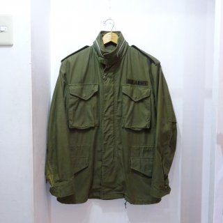 Late 60's U.S.ARMY M-65 2ndモデル アルミジップ size S-Regular