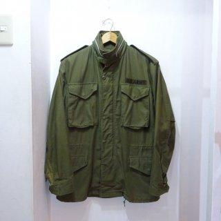 Late 60's U.S.ARMY M-65 2ndモデル アルミジップ size S-Regular