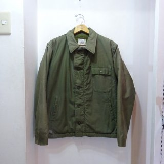 "1985y U.S.NAVY A-2 Deck Jacket ""SSN-701""ステンシル"