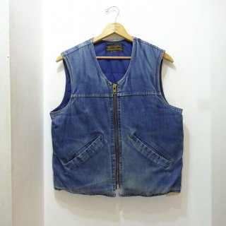 70's/80's Eddie Bauer Denim Down Vest