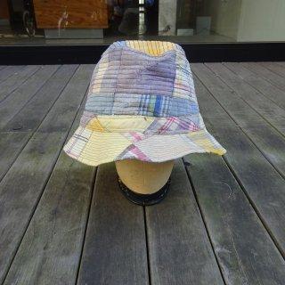 70's L.L.Bean Indian Madras Patchwork Bucket Hat