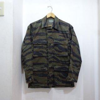 80's Civilian Tiger Camo BDU Jacket size XS-R